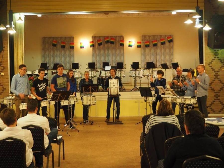 Uitwisseling drumband