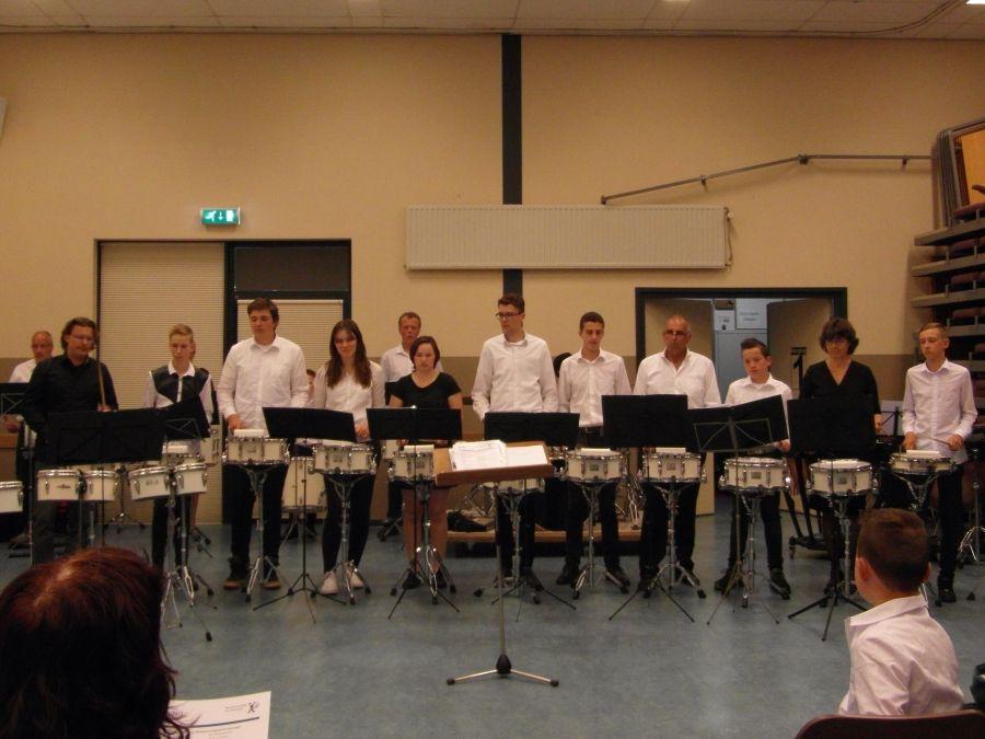 UItwisseling drumband met Boing