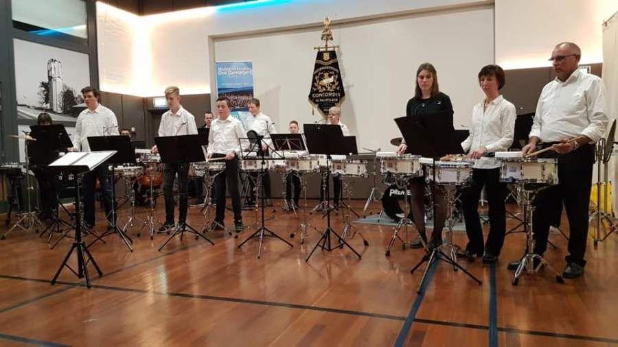 Uitwisseling drumband St. Philipsland